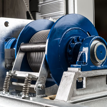 Rope winches from PLANETA Lifting Technology