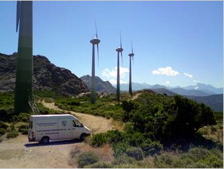 Expansion of the wind power service business to other countries: France, Austria, Netherlands.