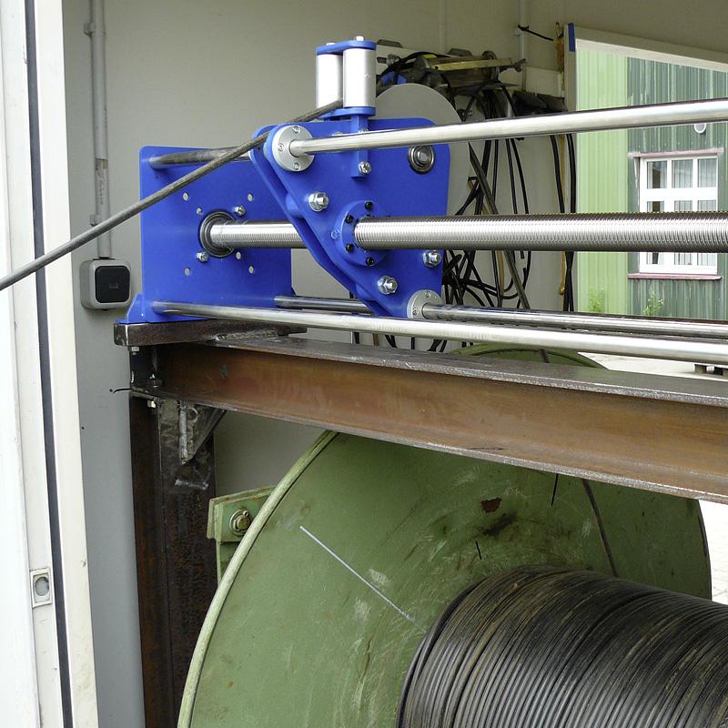 Spulvorrichtung - modular