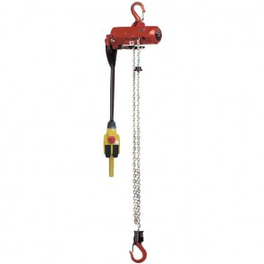 Mini air chain hoist TCRM 250DP with pendant control